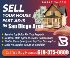 Sell My Houses Fast San Diego CA, We Buy Home cash California